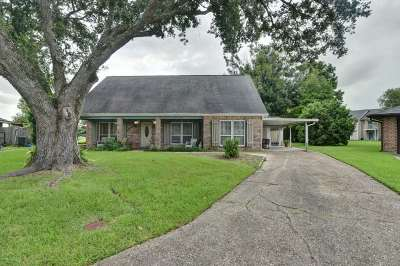 Thibodaux Single Family Home For Sale: 112 Bellingrath Street