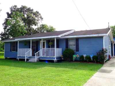 Thibodaux Single Family Home For Sale: 616 St Charles Bypass