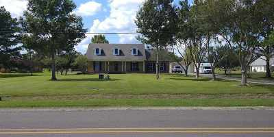 Thibodaux Single Family Home For Sale: 1010 Bayou Blue Bypass Road