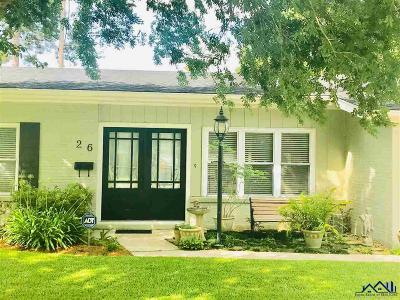 Houma Single Family Home For Sale: 26 Dallas Drive