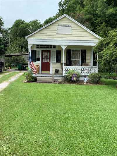Larose Single Family Home For Sale: 154 Old Highway 1