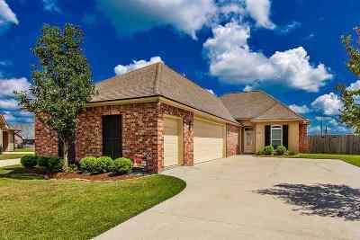 Thibodaux Single Family Home For Sale: 114 Dicharry Court
