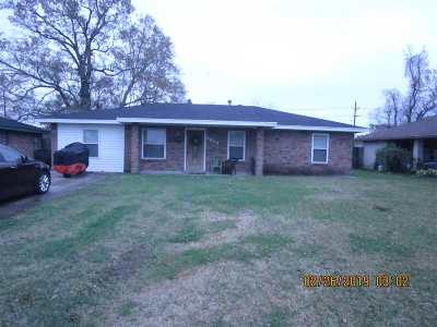 Houma Single Family Home For Sale: 3619 Friendswood Drive