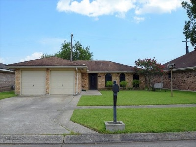 Morgan City Single Family Home For Sale: 1630 Chestnut Drive
