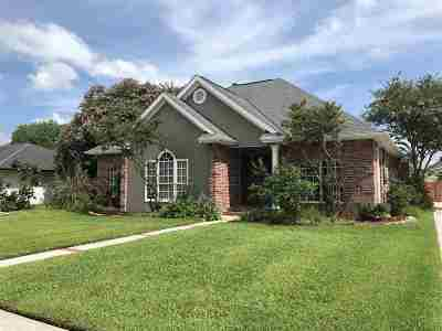 Houma Single Family Home For Sale: 206 Tiger Tail Road
