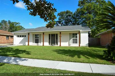 Morgan City Single Family Home For Sale: 1204 Onstead Street