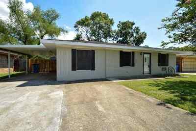 Patterson Single Family Home For Sale: 117 Ledoux Circle