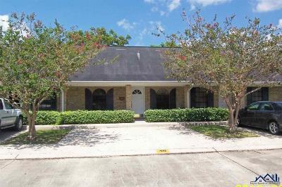 Thibodaux Single Family Home For Sale: 4B Audubon Court