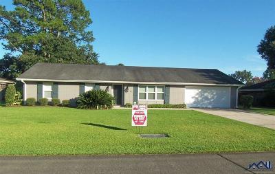 Thibodaux Single Family Home For Sale: 305 Price Lane