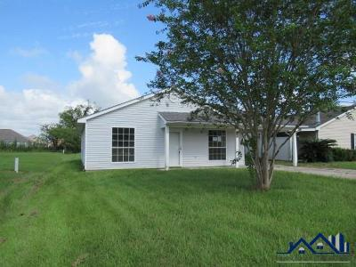 Thibodaux Single Family Home For Sale: 620 Winder Road East