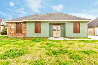 Thibodaux Single Family Home For Sale: 170 Millstone Drive