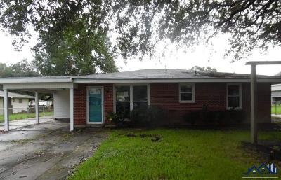 Thibodaux Single Family Home For Sale: 115 Ash Street