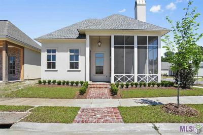 Baton Rouge Single Family Home Contingent: 10713 Cane River Dr