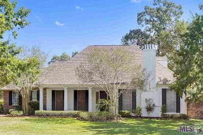 Baton Rouge Single Family Home Contingent: 17749 Masters Pointe Ct