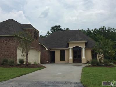 Denham Springs Single Family Home For Sale: 9580 Prairie Dunes Ct