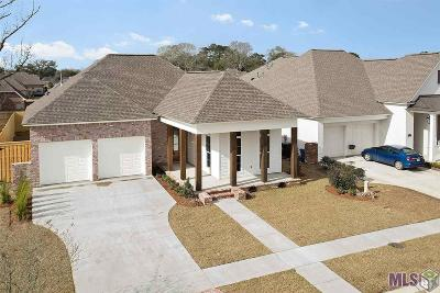 Prairieville Single Family Home For Sale: 18511 Oakland Crossing Blvd