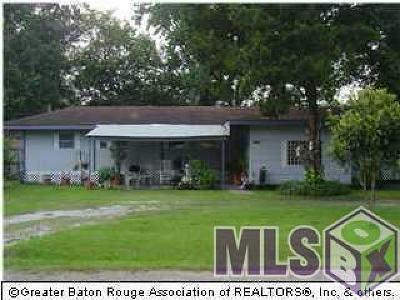 Gonzales Single Family Home For Sale: 13365 Bourgeois Rd