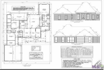 Port Allen Single Family Home For Sale: 1068 Esperanza Dr