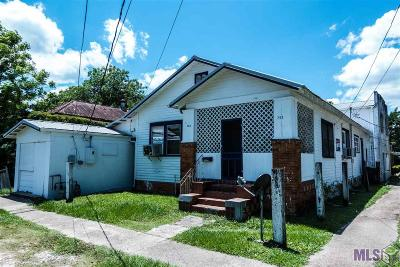 Donaldsonville Single Family Home For Sale: 702 & 702 1/2 Lessard