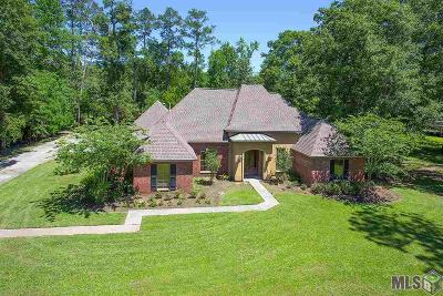 Denham Springs Single Family Home For Sale: 10485 Carol Lynn Rd