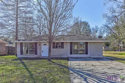 Zachary Single Family Home For Sale: 3410 Robert St