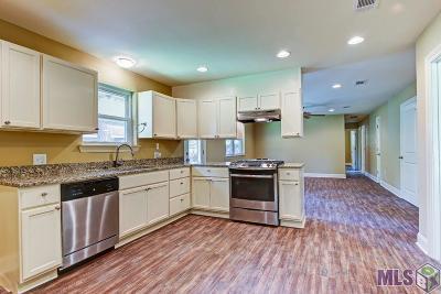Baton Rouge LA Single Family Home For Sale: $166,000