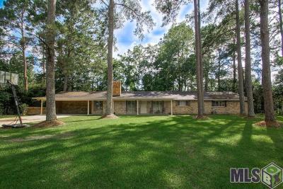 Denham Springs Single Family Home Contingent: 9572 Fairway Dr