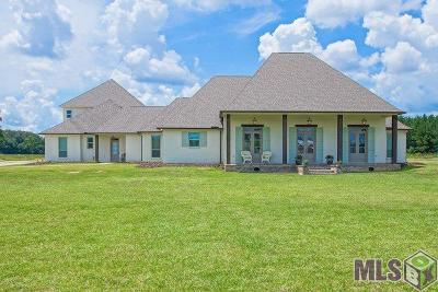 Denham Springs Single Family Home For Sale: 36503 Caraway Rd