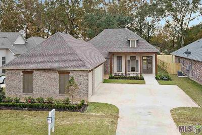 Prairieville Single Family Home Contingent: 37421 Whispering Hollow Ave