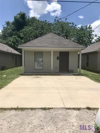 Port Allen Single Family Home For Sale: 1243 Court St