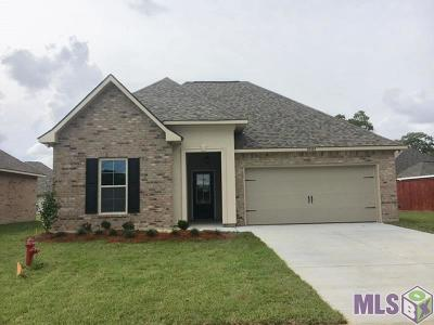 Denham Springs Single Family Home For Sale: 32463 Curtis Cove Ln