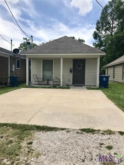 Port Allen Single Family Home For Sale: 1343 Court St