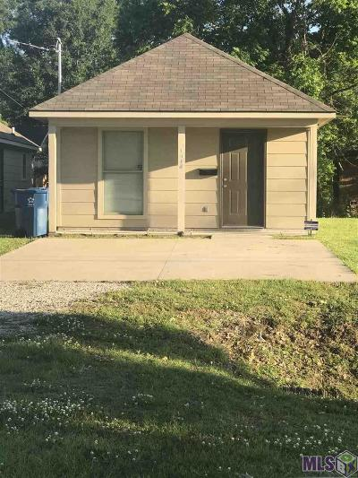 Port Allen Single Family Home For Sale: 1345 Court St