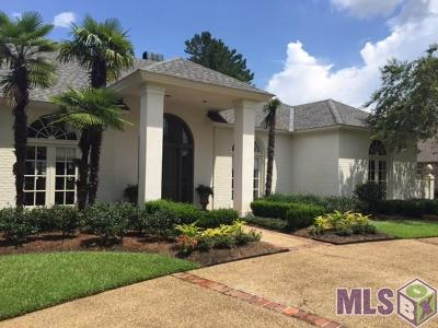 Baton Rouge Single Family Home For Sale: 17522 W Muirfield Dr