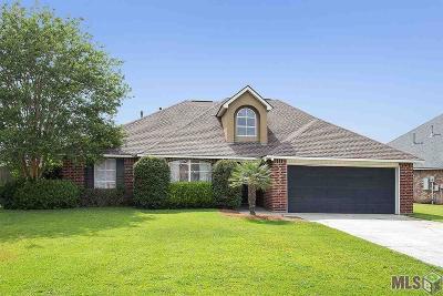 Denham Springs Single Family Home For Sale: 35983 Portsmouth Dr