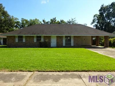 Baton Rouge LA Single Family Home For Sale: $88,000