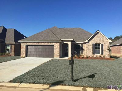 Denham Springs Single Family Home For Sale: 23069 Arcwood Dr