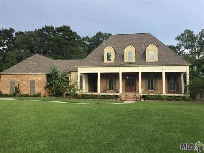 Denham Springs Single Family Home For Sale: 24070 Canyon Rd