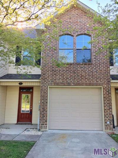 Gonzales Condo/Townhouse For Sale: 912 S Audubon Place Ave