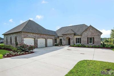 Denham Springs Single Family Home For Sale: 25837 Wax Rd