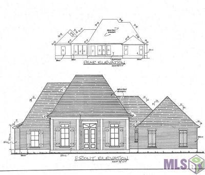 Denham Springs Single Family Home For Sale: 33050 Edith Dr