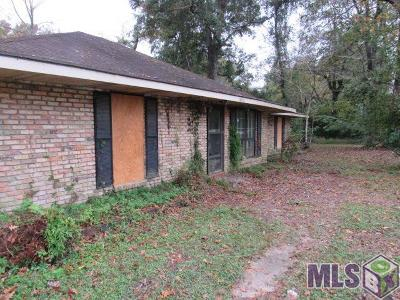 Zachary Single Family Home For Sale: 8850 Main St