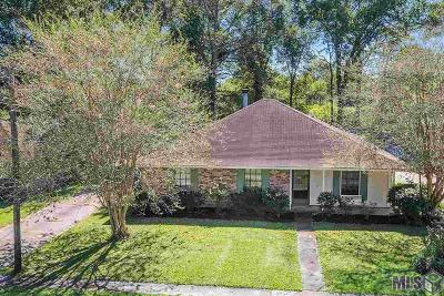 Zachary Single Family Home For Sale: 3782 Cypress Park Dr