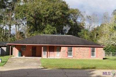 Denham Springs Single Family Home For Sale: 26421 Shadow Brook Ave
