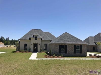 Denham Springs Single Family Home For Sale: 8888 Greenleaves Dr