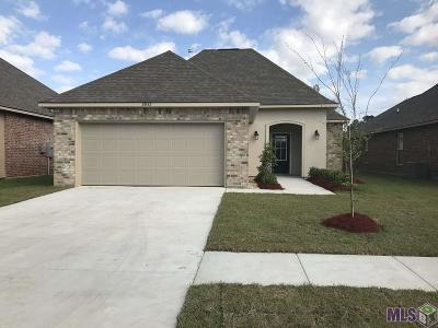 Gonzales Single Family Home For Sale: 39152 Superior Wood Ave