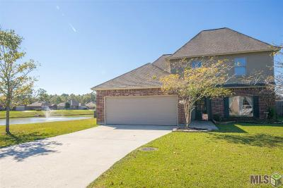 Denham Springs Single Family Home For Sale: 13900 Parkway Dr