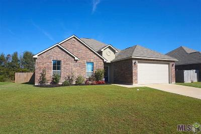 Denham Springs Single Family Home For Sale: 10645 Braves Ave