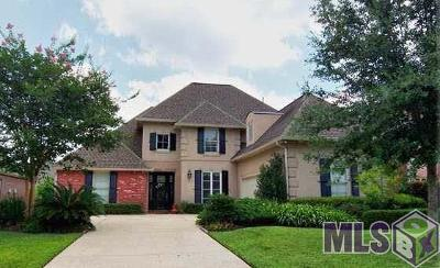 Prairieville Single Family Home For Sale: 18146 Manchac Place Dr