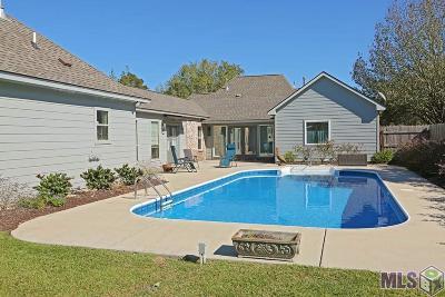 Prairieville Single Family Home For Sale: 16503 E Spanish Oaks Ct